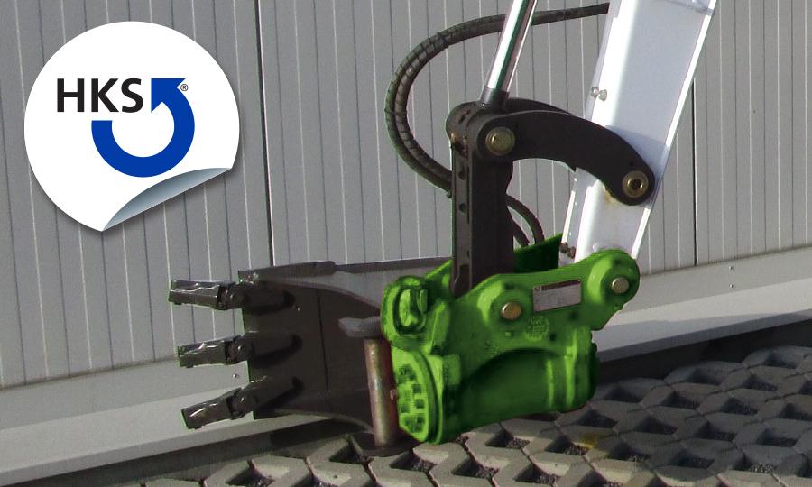 HKS XTRA-TILT für Minibagger