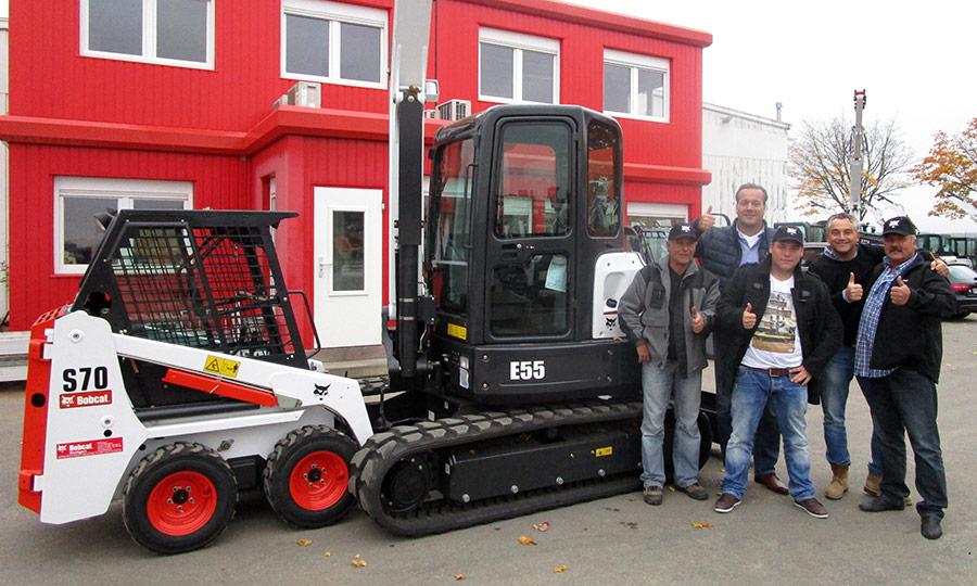 25 Bobcat Maschinen in 25 Jahren